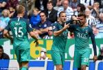 Video tong hop: Newcastle 1-2 Tottenham (Vong 1 Premier League 2018/19)