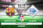Nhan dinh Barca vs Alaves (3h15 ngay 19/8): Cuoc dua bat dau