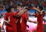 Video tong hop: U23 Viet Nam 2-1 U23 Palestine (Giai U23 quoc te 2018)