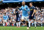 Video tong hop: Man City 3-0 Fulham (Vong 5 Premier League 2018/19)