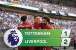 Video tong hop: Tottenham 1-2 Liverpool (Vong 5 Premier League 2018/19)