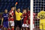 Mot loat an phat vong 22 V-League 2018 lien quan den trong tai