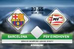 Barca 4-0 PSV Eindhoven: Sieu Messi lap hattrick, Blaugrana ra quan tung bung