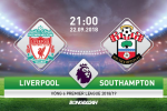 Nhan dinh Liverpool vs Southampton 21h00 ngay 22/9 (Vong 6 Premier League 2018/19)