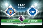 Man City 2-0 Brighton (KT): Thang de, Man xanh tam chiem ngoi dau bang
