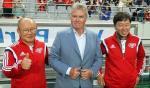 VIDEO: Thay Park tam dac voi cau noi nao cua sep cu Guus Hiddink