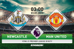 Newcastle 0-2 MU (KT): Rashford bung sang, Quy do noi dai mach thang hoa