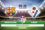 Barca 3-0 Eibar (KT): Cot moc 400 danh cho Messi