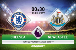 Chelsea 2-1 Newcastle (KT): Ban ha Chich choe, The Blues xay chac top 4