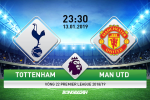 Tottenham 0-1 MU (KT): De Gea len than giup Man do tieu diet Ga trong
