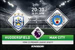 Huddersfield 0-3 Man City (KT): Chien thang don gian