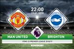 MU 2-1 Brighton (KT): Thang kho nhoc, MU pha hoi nong vao gay top 4