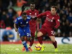 Video tong hop: Liverpool 1-1 Leicester (Vong 24 Premier League 2018/19)