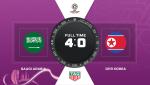 Video tong hop: Saudi Arabia 4-0 Trieu Tien (Asian Cup 2019)