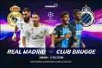 Real Madrid 2-2 Club Brugge: Los Blancos suyt mat mat truoc dan em tai sao huyet Bernabeu
