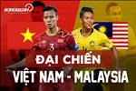 Doi hinh xuat phat cua Viet Nam dau Malaysia: Cong Phuong da chinh