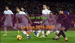 Lich thi dau La Liga 2019/20 vong 9 cuoi tuan nay