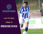 Lich thi dau bong da Ha Lan-Eredivisie 2019-20 dem nay 19/10