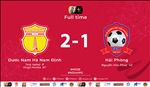 Video tong hop: Nam Dinh 2-1 Hai Phong (Vong 25 V-League 2019)