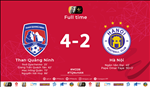 Quang Ninh 4-2 Ha Noi: Ha guc nha vua, Quang Ninh doat tam HC lich su tai V-League