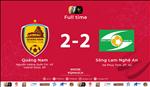 Video tong hop: Quang Nam 2-2 SLNA (Vong 26 V-League 2019)