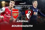 Arsenal 1-0 Bournemouth: David Luiz toa sang, Phao thu gat bo than phan chu tu