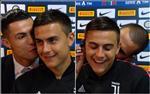 VIDEO: Toa sang o Derby d'Italia, Dybala duoc Ronaldo trao tang mon qua chay bong