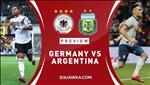 Duc 2-2 Argentina: Ket qua dep cho mot tran giao huu
