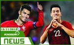 TIN NONG bong da hom nay 15/11: Ronaldo lap hattrick, Tien Linh ghi sieu pham