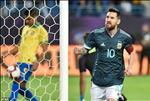 Gianh danh hieu vo nghia cung DT, Messi an mung nhu vo dich C1