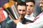 Messi chia se niem vui khi cung Argentina danh bai Brazil