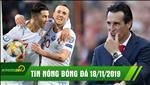 TIN NONG bong da hom nay 18/11: Ronaldo toa sang dua Bo Dao Nha du VCK Euro 2020