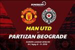 Nhan dinh Man Utd vs Partizan (3h00 ngay 8/11): Xay dap ngoi dau, the con niem tin?