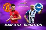 MU 3-1 Brighton: Gianh 3 diem, Quy do vuon len vi tri thu 7 tren BXH