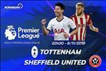 Tottenham 1-1 Sheffield (KT): Son Heung Min no sung, Spurs van phai chia diem that vong