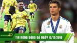TIN NONG bong da sang nay 10/12: Ronaldo hoi han vi chia tay Real