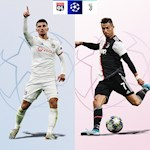 Lyon som dau hang, Juventus trong cho Ronaldo toa sang
