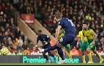 Thong ke Norwich 2-2 Tottenham: Diem tua 'to hoang yen'