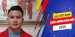 VIDEO: U23 Viet Nam chuc mung nam moi 2020 toi NHM khap ca nuoc