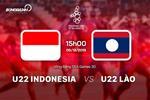 U22 Indonesia 4-0 U22 Lao (KT): Thang dam de vao ban ket voi ngoi nhi bang B