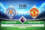 Leicester 0-1 MU (KT): De Gea lai hoa sieu nhan cuu Quy do