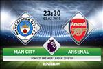 Man City 3-1 Arsenal (KT): Aguero lap hat-trick, Arsenal tan xac phao tai Etihad