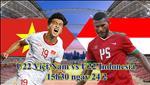 U22 Viet Nam 0-1 U22 Indonesia (KT): Bat luc truoc loi choi ran, U22 Viet Nam danh tranh hang 3