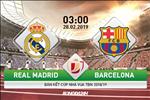 Real Madrid 0-3 (1-4) Barca (KT): Tan tac tai El Clasico, Los Blancos nhin dai kinh dich vao chung ket cup Nha vua