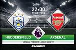 Huddersfield 1-2 Arsenal (KT): Phao thu thang hu via doi cuoi bang