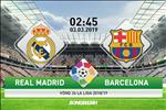 Real Madrid 0-1 Barca (KT): Lai thua o El Clasico, Los Blancos them mot lan cui dau truoc dai kinh dich