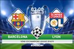 Barca 5-1 (5-1) Lyon (KT): Thang huy diet, Los Blaugrana tien vao tu ket Champions League