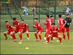 Chum anh: Nhung tu the thu vi cua cau thu U23 Viet Nam khi tap luyen