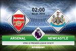 Arsenal 2-0 Newcastle: Lan dau vao Top 3 cua Phao thu