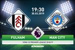 Fulham 0-2 Man City (KT): Song tau Aguero - Silva danh sap Craven Cottage